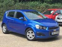 2012 Chevrolet Aveo 1.3VCDI ( 75ps ) ( s/s ) LT 5 Door Blue only 56662 Miles FSH