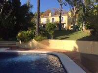 Winter Sun Opportunity to rent a Beautiful Family Villa in Marbella