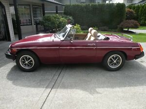 1980 MGB IN EXCELLENT CONDITION