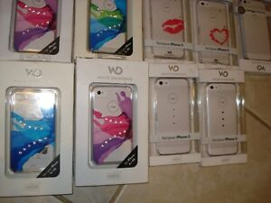100 BRAND NEW I PHONE 5 COVER CASE& HTC COVER CASE