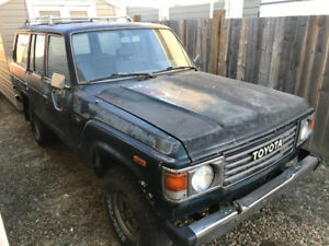 1985 Toyota Landcruiser Part Out