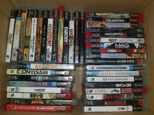 More than 40 ps3 premium games for 100 dollars.