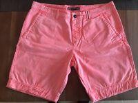 Men's orange Superdry shorts XXL