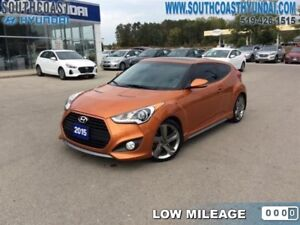 2015 Hyundai Veloster Turbo at  One Owner -  Naviation - Heated