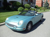 2002 Ford Thunderbird Cabriolet- Turquoise