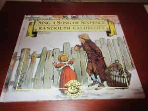 Sing a song of sixpence by Randolph Caldecott HC MINT