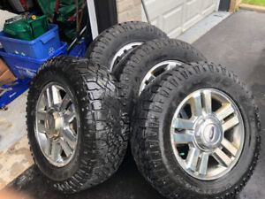 Good year Tires 265 65R 18 with rims
