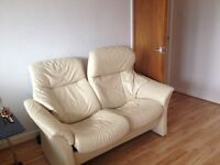 Leather couches /armchair