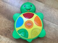 **As New Playskool Elefun & Friends Shapes 'N Colors Turtle Toy**