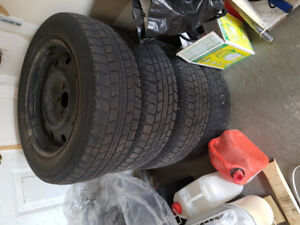 215 65 R17 Winter tires set with Rim for sale