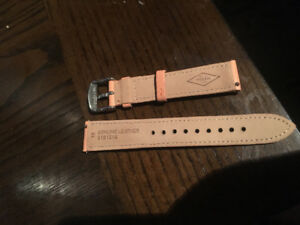 Fossil watch leather strap