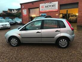 2004 Ford Fiesta 1.4 16v ghia Silver 5dr Hatch, **ANY PX WELCOME**