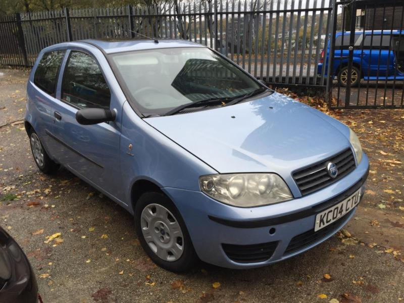 2004 04 blue fiat punto 1 2 8v active 3 door in rochdale manchester gumtree. Black Bedroom Furniture Sets. Home Design Ideas