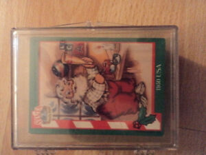 Coca Cola Christmas Cards in Acrylic Case-Reduced $10.00