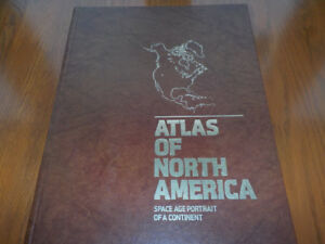 Atlas of North America - Space Age Portrait of a Continent