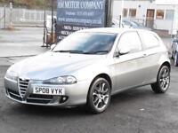 Alfa Romeo 147 1.9JTDM Sport, 2008, Grey, FSH, 6 Months AA Warranty