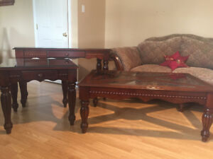3 pc.coffee table set