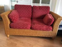 M&S Rattan Furniture includes, 3 & 2 seater sofas, Coffee and side Tables and Armchair,
