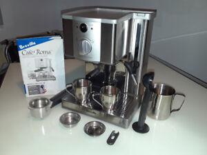Machine à espresso/cappucino Breville café roma