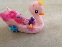 My little pony pinkie pie swan boat never used