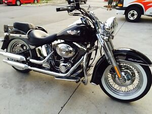 Harley Davidson Softail deluxe 2005
