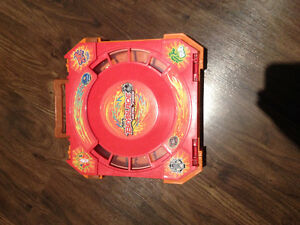 BEYBLADE CASE WITH 2 BEYBLADES