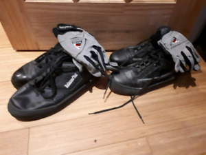 Mens and Ladies curling shoes