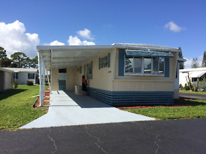FLORIDE MAISON mobile  home for rent  OCT TO JAN  only