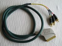 1 x 1.5m IXOS Scart to RCA Cable