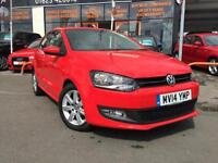 2014 14 VOLKSWAGEN POLO 1.2 MATCH EDITION 3D ONLY 21,000 MILES