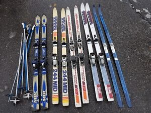 OLDER SKI MODELS GREAT FOR WALL DECORATON $10