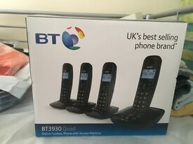 Boxed new by answering phone 4 set