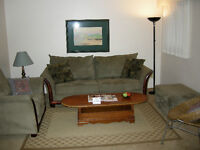FULLY FURNISHED ONE BEDROOM PLUS DEN AND TWO BEDROOM SUITES