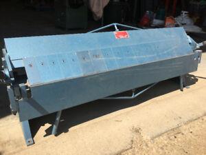 "4' plate roller & 48"" box and pan brake"