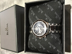 Bulova Quartz Chronograph ladies watch Brand New (Never Worn)
