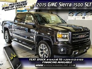 2015 GMC Sierra 1500 SLT  - IntelliLink -  Navigation - OnStar 4