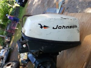 WANTED  Johnson or Evinrude 4 HP Outboard for parts 1971-1972