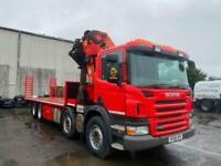 Scania P-SRS L-CLASS CRANE LORRY, HIAB