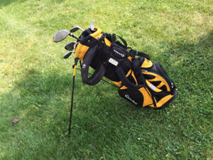 Striker Left Hand Junior Golf Starter Clubs with Taylormade Bag