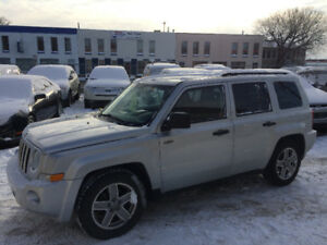 2009 JEEP PATRIOT 4X4, SEVEN MONTH WARRANTY INCLUDED