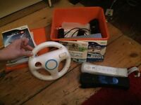 Nintendo Wii Console (RVL001-eur) with Games