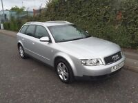 *** 2003 AUDI A4 AVANT 2.5 TDI FULL SERV HIST 6 SPEED*** £1799!