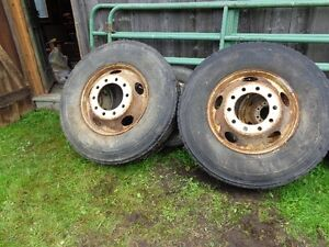 11R22.5 Tires and rims