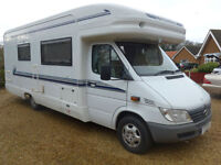 Auto Trail Mohican Luxury 2 Berth based on Mercedes 313 CDI End Wash/Dress room