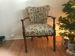 Stunning Antique Occasional Chair