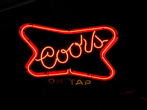 Neon Coors Sign London Ontario image 2