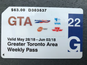 Weekly GTA PASS For Sale for $20