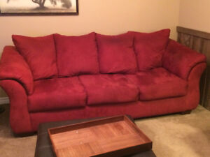 Couch, Love Seat & Chair