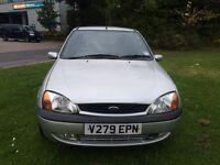 Ford Fiesta 1.2 petrol low mileage one year mot great condition