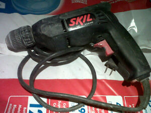 SKILL 3/8 Drill  Keyless Chuck, Reversible, ONLY $20